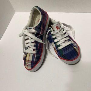 Plaid Polo Ralph Lauren Sneakers